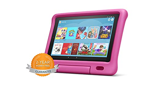 Fire HD 10 Kids tablet | 10.1' 1080p Full HD Display, 32 GB, Pink (Previous...