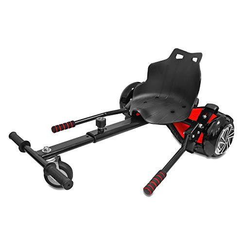 Eaxus® Kart Aufsatz für Hoverboard, Waveboard & Co. - Hoverkart Sitz Nachrüstset. Fahren wie EIN GoKart!