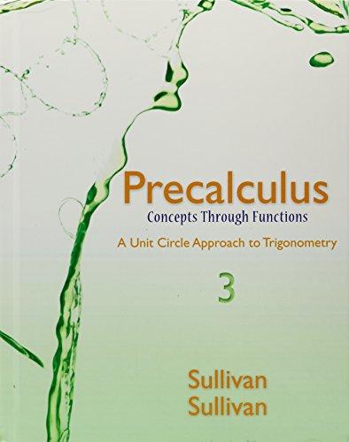 Precalculus: Concepts Through Functions, a Unit Circle Approach to Trigonometry, Mylab Math Inside Star Sticker, Mylab M