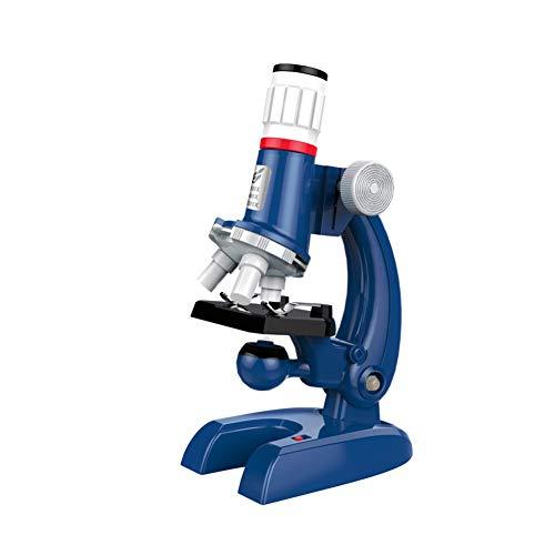 Función niños Microscopio de múltiples lentes 1200X vidrio óptico del microscopio Juguetes científicos de Bioscience microscopio de la ciencia Juguetes para la Escuela 1Ponga 2315 Tipo