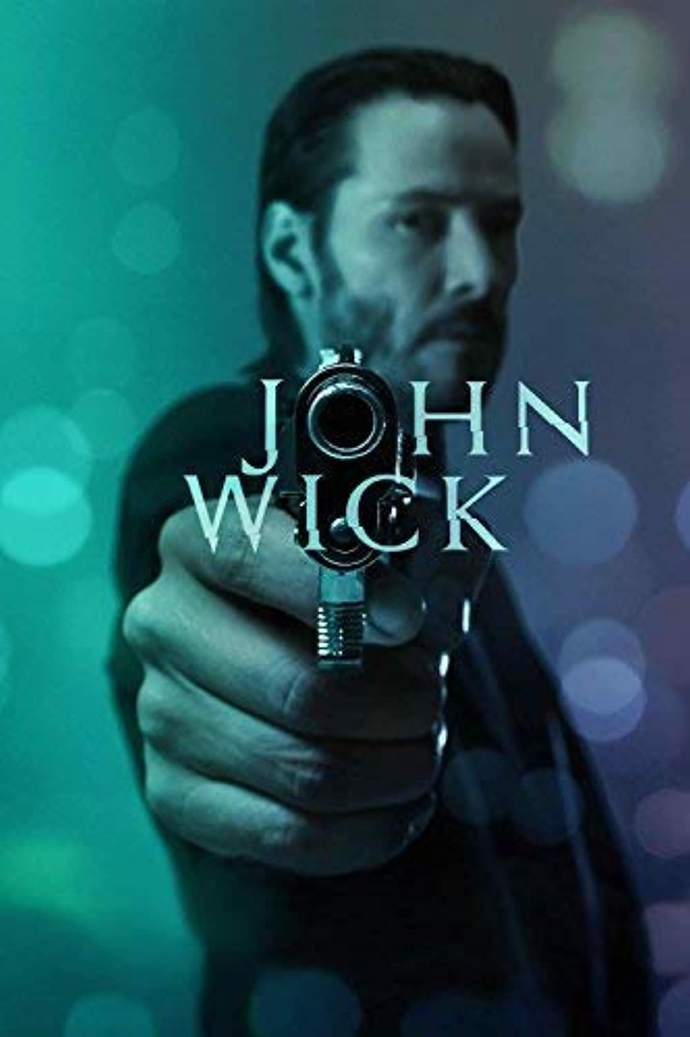 Black Creations John Wick 1 Movie Poster Canvas Picture Art Print Premium Quality A0 A1 A2 A3 A4 (A0 Canvas (30 40))