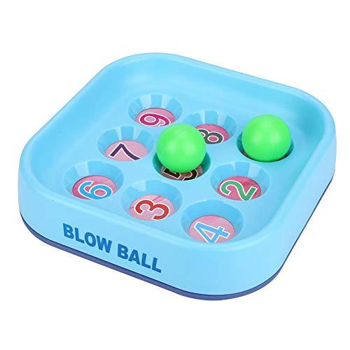 Fdit Juego de Mesa de Soplo Bolas Interactivo Blow Ball Juguete Colorido Clásico Regalo para Niños Educación Temprana