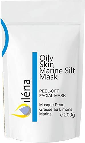 Masque Peel-Off Masque d'Alginate gelifiant en poudre 200 g professionnel et à la maison Masque Visage extracteur points noirs (Masque Marin Revitalisant Peau grasse)