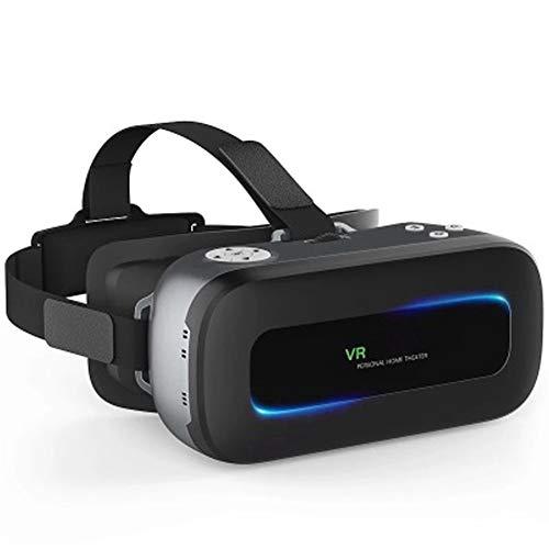 """PXYUAN Casque VR, FOV 110 °, Visualiseur de Film/Jeu 3D IMAX Compatible pour iPhone XR XS X 8 7 6 S Plus Samsung Galaxy S9 S8 S7 S6 Edge + téléphone Portable 4.0-6.33 """""""