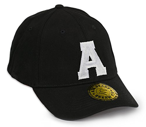 Unisex Snap Back Cap Flex fit Kappe Baseball Damen Herren HUT Mütze Caps Gothic 3D A-Z Snapback A
