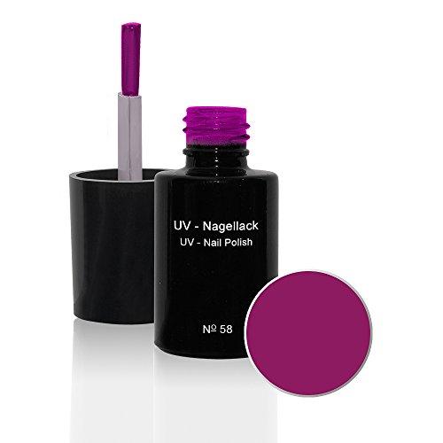 UV Vernis à ongles N°58 Purple Pink 6ml