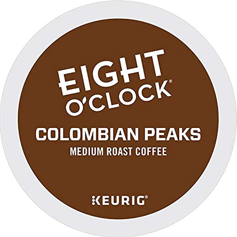 Eight O Clock Coffee Colombian Peaks K Cup For Keurig Brewers 100 Count 100