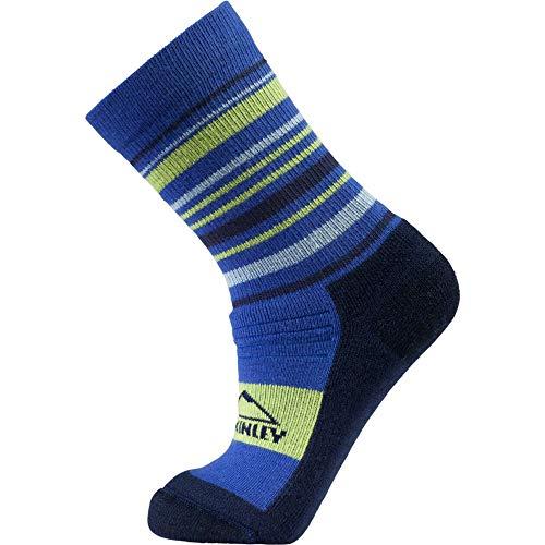 McKINLEY Kinder Selina Socken, Royal/Navy/Blue/Lime, 27-30