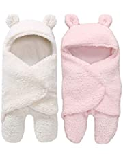 My NewBorn Baby Boys and Baby Girls 3 in 1 Baby Blanket-Safety Bag-Sleeping Bag Pack of 2 pcs