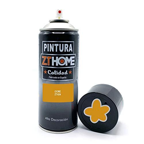 Pintura Spray Marron Ocre 400ml imprimacion para madera, metal, ceramica, plasticos / Pinta todo tipo de cosas y superficies Radiadores, bicicleta, coche, plasticos, microondas, graffiti