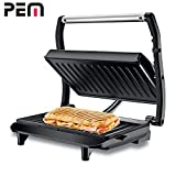 Grill Panini et sandwich, burger PEM PG-010 850W