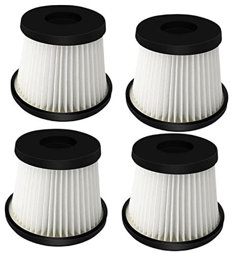 Filtro de aspiradora de 4pcs for Ariete 2767 Escoba de batería