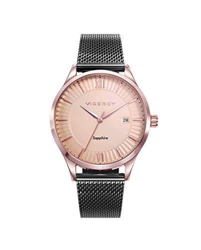 VICEROY - Reloj Acero IP Rosa Y Gris Brazalete Sra Va - 471222-93
