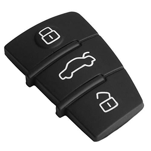 Funda para llave sin olor, color negro para llave de coche, protege del desgaste y el desgarro