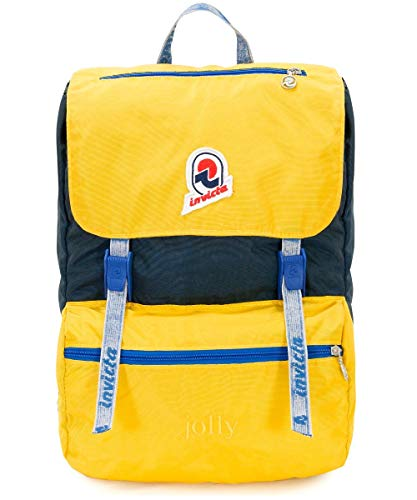 Invicta Jolly Mochila tipo casual, 35 cm, 18 liters, Amarillo (Giallo)