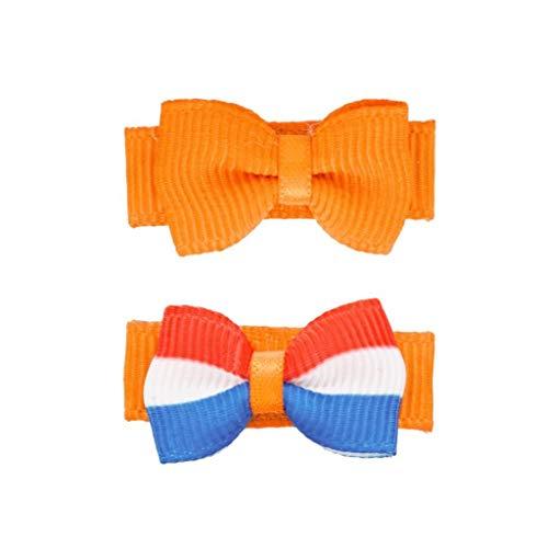 Koningsdag baby haarspeldje oranje nederlandse vlag | Baby