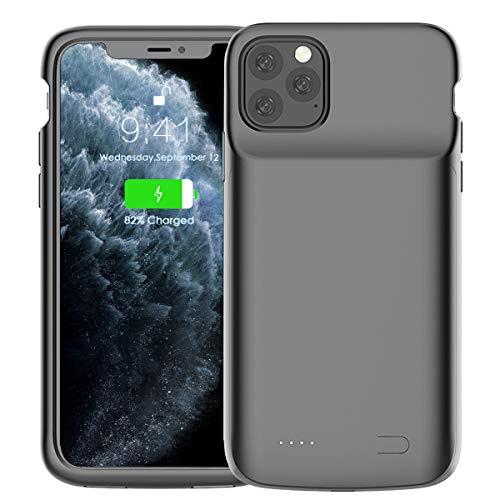 iPhone11 Pro 対応 バッテリーケース 4800mAh 軽量 充電ケース バッテリー内蔵ケース 急速充電 大容量 ケース型バッテリー 超便利 耐衝撃 5.8インチ用 (iPhone 11 Pro)