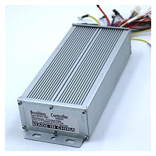 Regulador Patinete Electrico Sensor/Modo Dual sin Sensor 84-96V 2000W 50A Controlador de Motor BLDC E-Bike E-Bike Controlador DE Velocidad Controlador del Motor