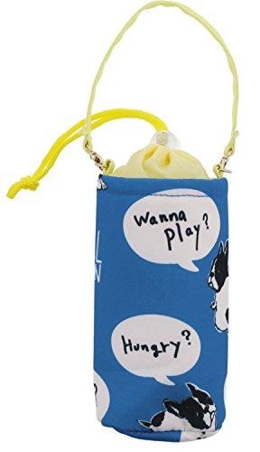 ペットボトル ホルダー ブルトンボイス 保冷 保温 ブルー 500ml ZW-377-104