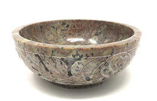 vrinda Soapstone Scrying/Smudge Bowl