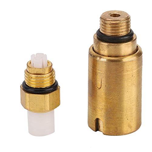 Válvula de presión residual de suspensión neumática, 2 piezas de amortiguadores de metal, amortiguador, válvula de presión residual de suspensión neumática