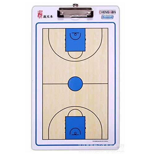 WANGYONGQI Hochwertiges Basketball-Coach Board Magnetic Coaching Buch-Set mit Pen Basketball Coaching Clipboard Tactical Plate-Taktik