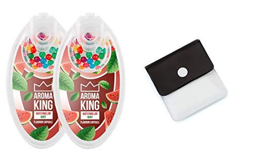 SweedZ Aroma Kapseln Watermelon Mint/Perlen für Zigaretten + Taschenascher - 200 Kugeln
