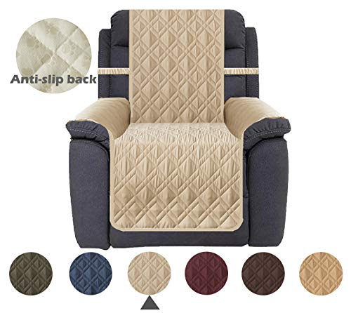 Ameritex Waterproof Nonslip Recliner Cover Stay in Place, Dog Chair Cover...