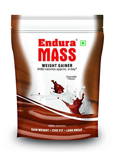 Endura Mass Weight Gainer, Brown, Chocolate, 400 g