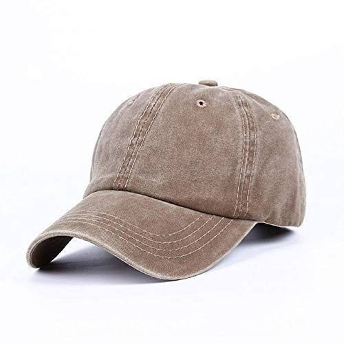 XCLWL Cap Jeans muts Washed Denim Hip Hop Cap S Hoed Dames Baseballmuts Unisex Street Dance Cap Fashion