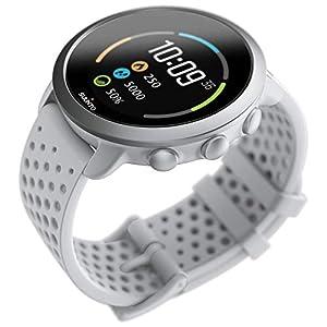 Suunto 3 Fitness Tracker Sports Watch, Pebble White