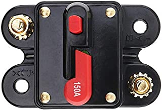 150A Dc 12V Durable Car For O Amplifier Circuit Breaker Fuse Holder Agu Style Stereo Amplifier Refit
