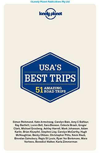 Lonely Planet USA's Most Useful Trips (Trips Country) - 41k2k7IRAYL