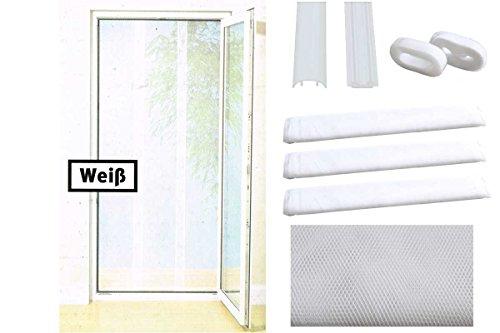 PowerfixProfi+® Tür Fliegengitter - Insektenschutztür (Weiß)