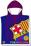 FCB FC Barcelona- Poncho Toalla 202, Color azulgrana, 55 x 110 cm (Skybrands A/S 5.71076E+12)