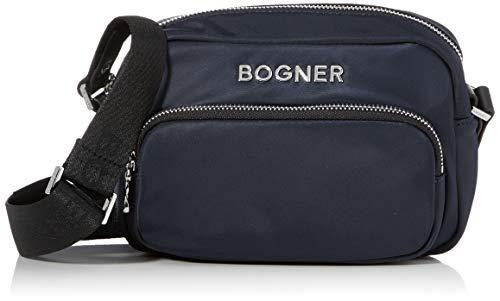 Bogner BOGNERKlosters Lidia Shoulderbag XshzDonnaBorse a spallaBlu (Dark Blue) 7x14x20 centimeters (W x H x L)