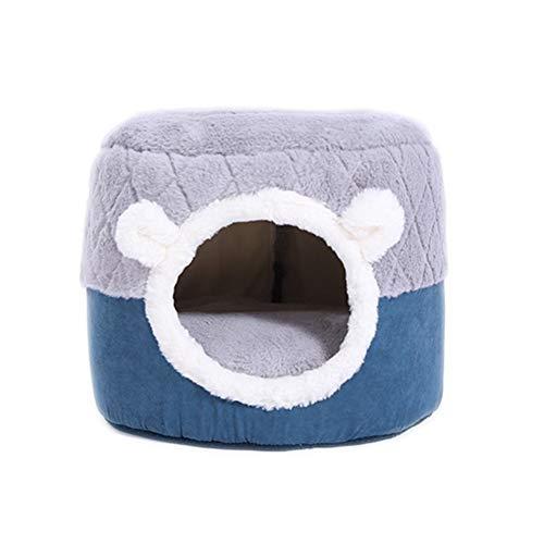 Xinllm Hundebetten Hundebett Hundeschlafsäcke Hund Betten Waschbar Tragbares Hundebett Hundehöhlenbett Katze Bett Höhle Luxus Hundebett Katze Korb S