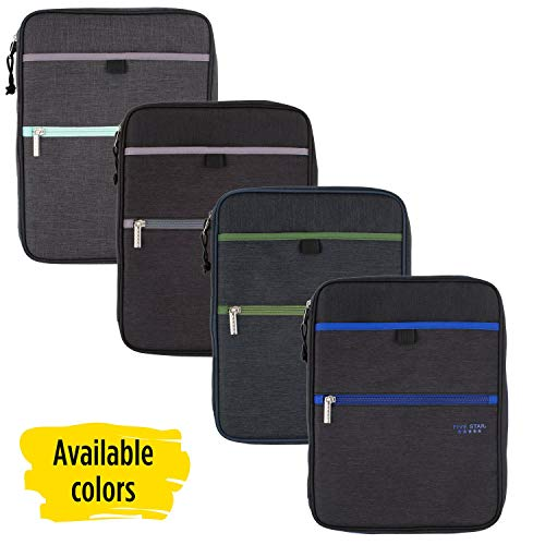 Five Star Zipper Binder, 1 Inch 3 Ring Binder, Carry-All with Internal Pockets & Dividers, Assorted Colors, Color Selected for You, 1 Count (29092) Photo #4