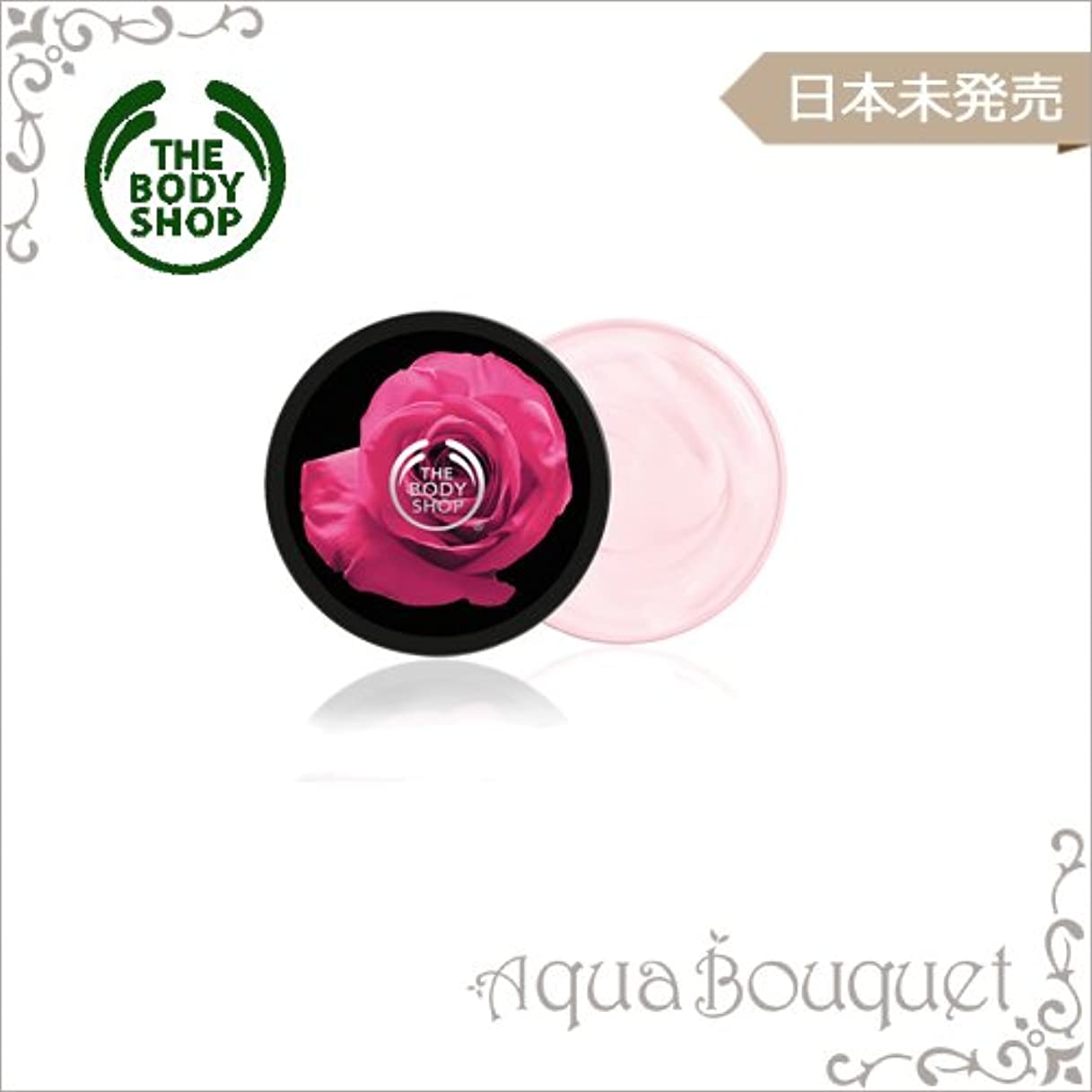 施し忘れっぽい貝殻ザ?ボディショップ ブリティッシュローズ ボディバター 50ml The Body Shop British Rose Instant Glow Body Butter 1.72oz [並行輸入品]