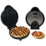 Waffle Maker Waffeleisen Frühstücksmaschine Maschine Runde tragbare Küche Kochen Mini - Runde