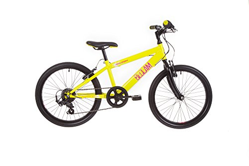 Raleigh Jungen Bedlam Bike, gelb, 28 cm