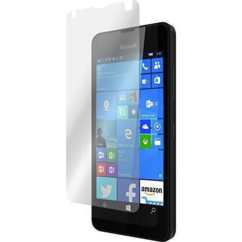 PhoneNatic 6er-Pack Bildschirmschutzfolien klar kompatibel mit Microsoft Lumia 550