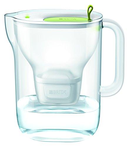 BRITA Wasserfilter Style XL hellgrün inkl. 1 MAXTRA+ Filterkartusche – Großer BRITA Filter in modernem Design zur Reduzierung von Kalk, Chlor & geschmacksstörenden Stoffen