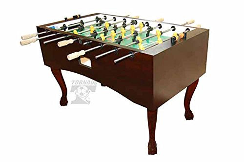 Lowest Price! Tornado Crafted Wood Designer Foosball Table - Made in The USA (Cordovan, Madison)