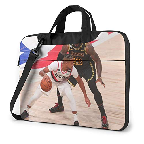 Miwaimao Basket_Ball Player Llaptop Bag 15.6 Inch Briefcase Shoulder Bag Satchel Tablet Bussiness Carrying Handbag Laptop Sleeve