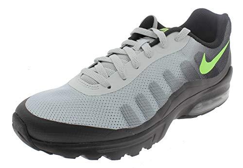 Nike Air MAX Invigor, Zapatillas de Atletismo para Hombre, Multicolor (Black/Electric Green/Pure Platinum 001), 42.5 EU