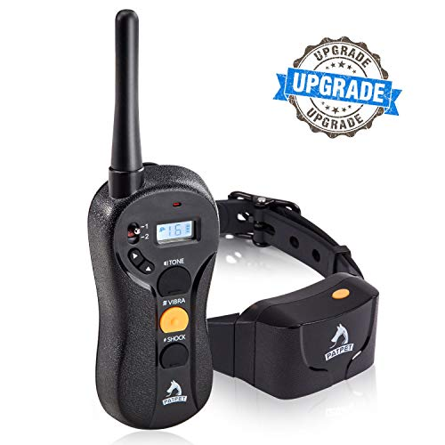 PATPET Dog Training Collar - Upgraded 1000Yd Remote Range,Blind Operation Remote Controlled,...