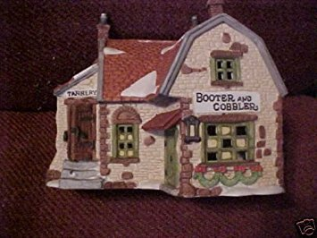 """Department 56 Heritage Village Collection Dickens Village Series """"Booter and Cobbler"""""""