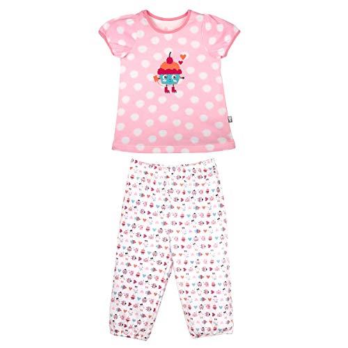 Petit Béguin - Pyjama fille manches courtes Funny Game - Taille - 2/3 ans