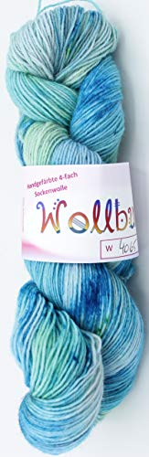 Handgefärbte 4-fach Sockenwolle